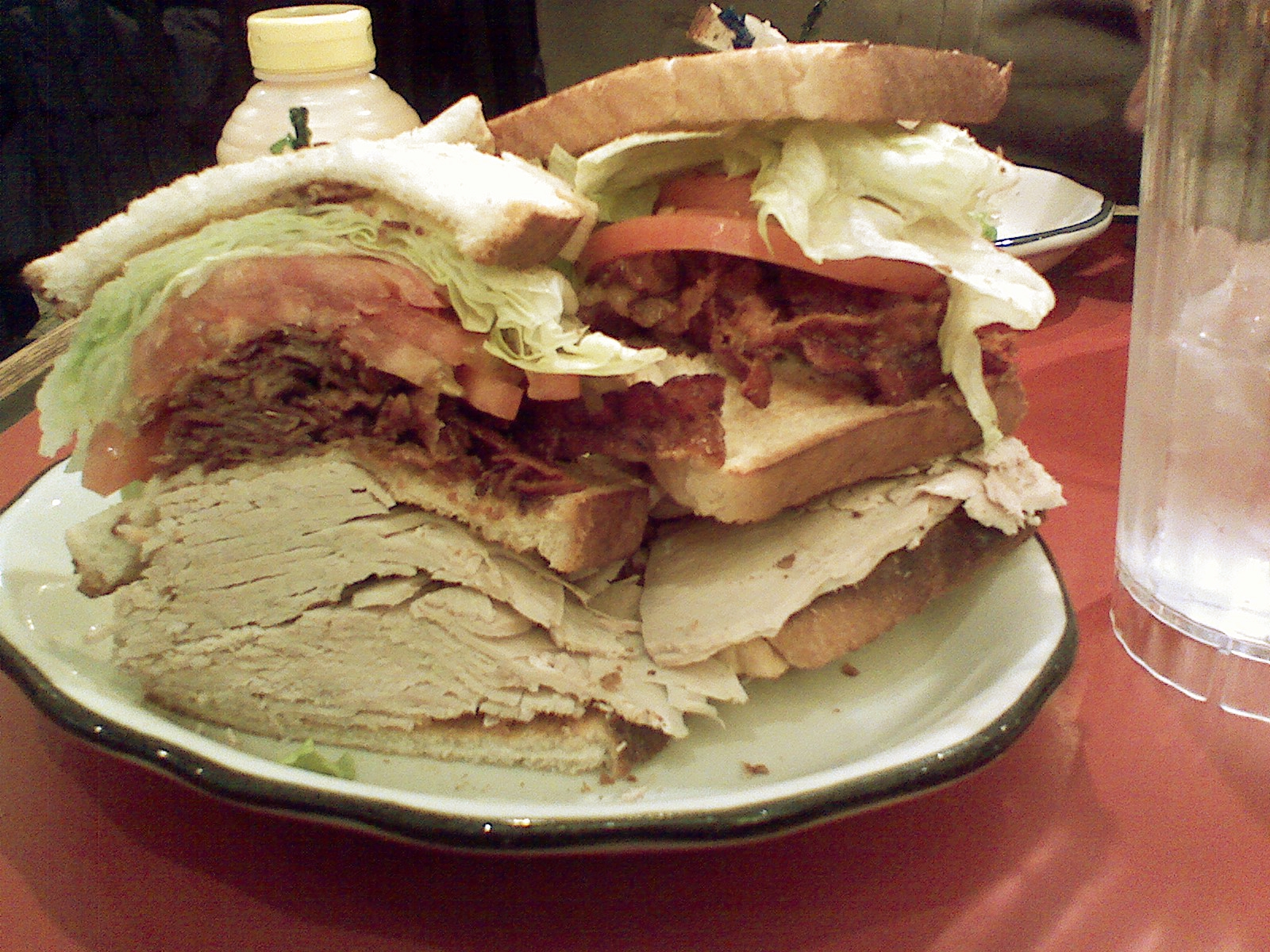 turkey club stages deli 7th ave new york ny on sandwiches