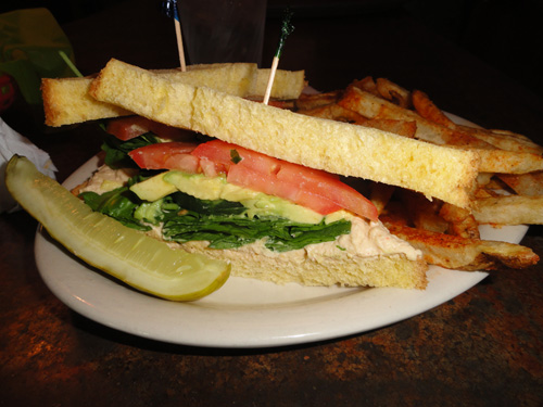 Allie's Vegan 'Wich, Kerbey Lane Cafe