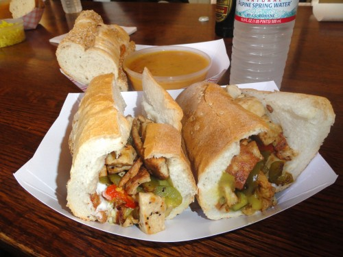 Philly Chicken Cheese Steak, Govinda's Gourmet To Go