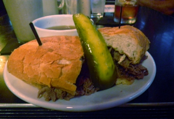 The Beef Dip sandwich from Cole's