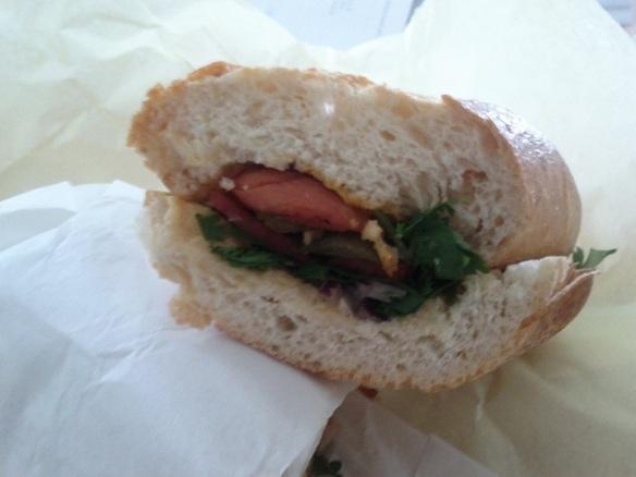 sausage sandwich