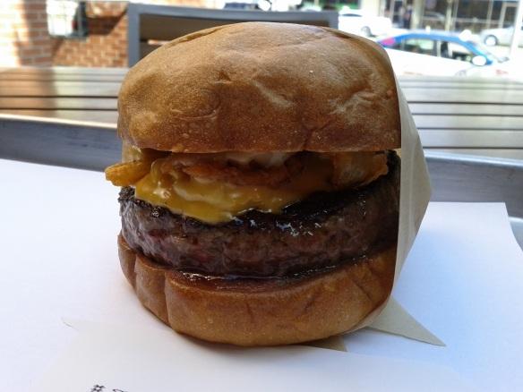 manly umami burger