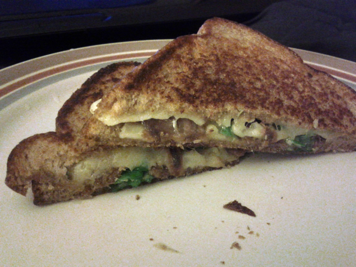Anchovy Grilled Cheese – Made at Home